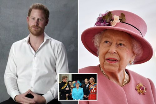 Harry impersonates the Queen as he buries hatchet with family in tribute to Phil