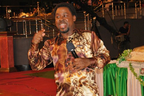 What was Pastor TB Joshua's cause of death?