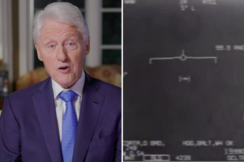 Bill Clinton says UFOs 'flying around' and there is 'life somewhere else'