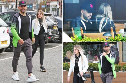 Aguero takes girlfriend to lunch with Man City star's agent 'in Barcelona'