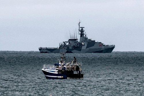 Royal Navy warships see off Jersey blockade & send French fishing boats packing
