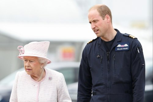 The Queen once gave William a 'b******ing' after he chased Zara into a lamppost