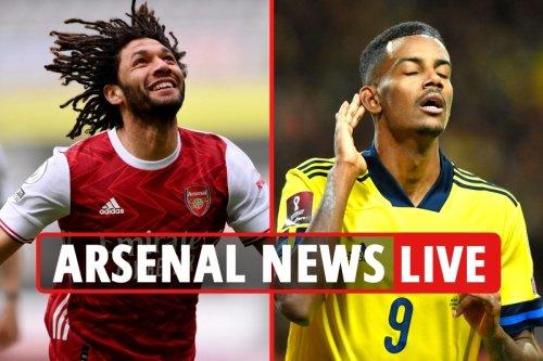 Arsenal news LIVE: Elneny sale LATEST, Isak eyed to replace Lacazette, Jovic potential move - transfer updates