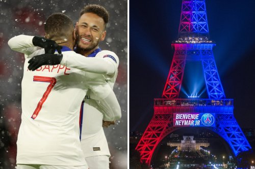 PSG offered Neymar private jet, hotel shares and to put his name on Eiffel Tower