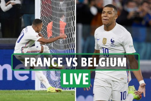 Belgium vs France LIVE: Latest updates from Uefa Nations League