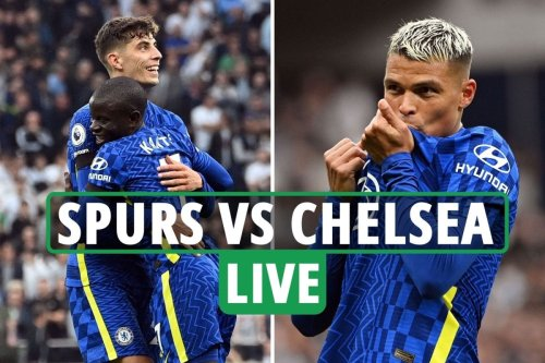 Tottenham vs Chelsea LIVE: Latest updates from London derby