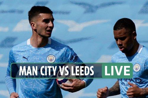 Man City vs Leeds LIVE: Follow all the latest from Premier League clash