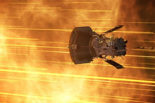 Nasa has 'touched the Sun' using 300,000mph probe now fastest object ever built