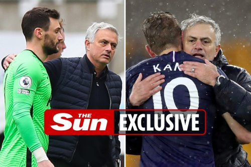 Tottenham sacked Jose Mourinho after his most loyal stars including Kane and Lloris revolted and moaned to Levy