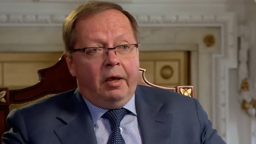 Russian ambassador warns of 'bloodbath' in Ukraine if troops are moved in