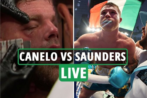 Canelo vs Billy Joe Saunders LIVE REACTION: Saunders may 'RETIRE' after horrific eye injury - latest updates