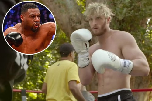 Logan Paul leaves world boxing champ Jean Pascal stunned with skills in sparring for Floyd Mayweather fight