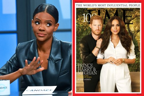 Candace Owens rips Meghan & Harry's 'embarrassing' Time cover