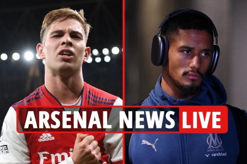 Arsenal news LIVE: Saliba set to STAY, Lacazette exit LATEST, Smith Rowe wants to remain at Gunners for entire career