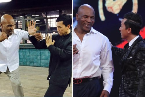 Tyson's co-star Donnie Yen feared he'd DIE shooting fight scenes for Ip Man 3