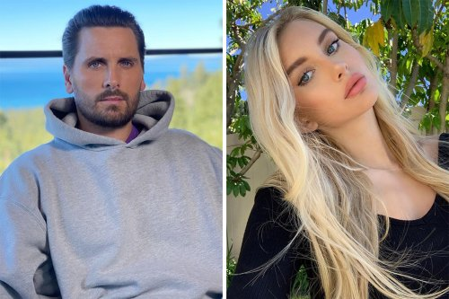 Scott parties with model after feeling 'betrayed' over Kourtney's engagement