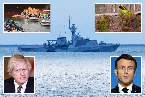 On the Jersey front line as armada of French fishing boats 'restage Trafalgar'