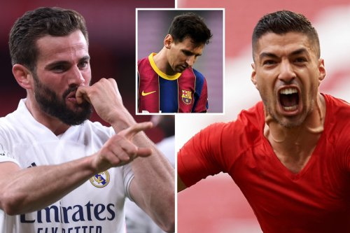 Watch Suarez score late winner as Atleti battle Real in LaLiga title race and Barca crash out