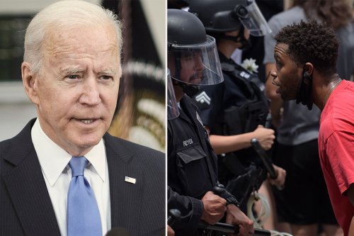 Biden accused of knocking cops for saying there's 'deep distrust'