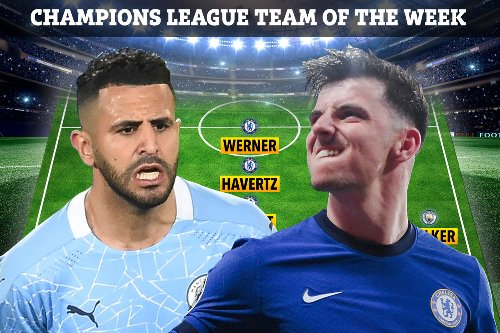 Champions League Team of the Week made up entirely of PL players.. but no Kante
