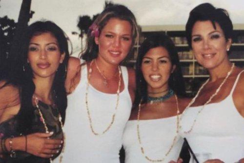 Kim, Khloe & Kourtney Kardashian look unrecognizable in 'good throwback' photos