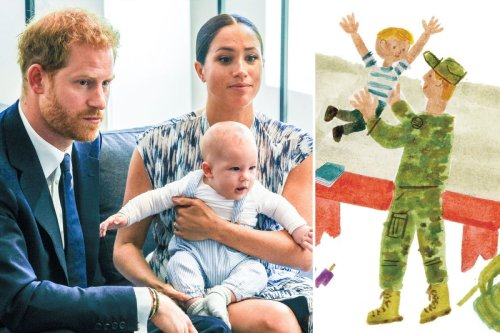 Meghan 'using new book to show Harry is upset being stripped of military titles'