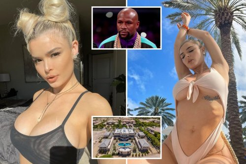 Floyd Mayweather 'kicks fiance out of mansion so he can focus on boxing'