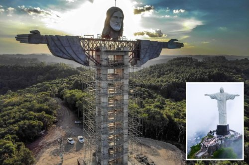New Jesus statue set to become the world's tallest at 141ft high