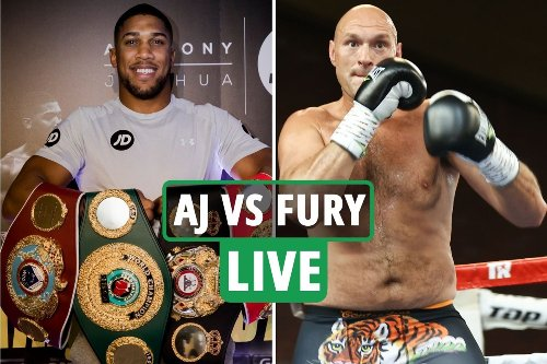 Anthony Joshua vs Tyson Fury LIVE updates: Fight date CONFIRMED, Saudi Arabia to host - latest updates