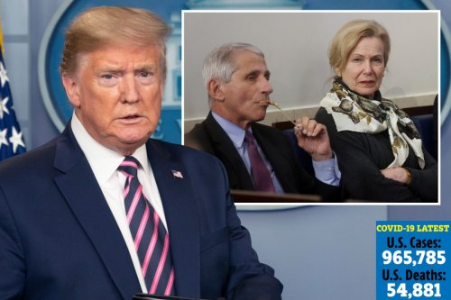 Trump 'will sideline Fauci and Birx and spend press briefings talking about economy' despite climbing death toll