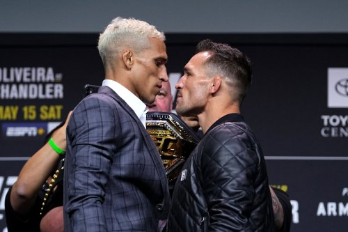 Michael Chandler vs Charles Oliveira: Fighters and pundits UFC 262 showdown