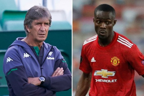 Eric Bailly set to be offered Man Utd escape by ex-City boss Pellegrini at Betis