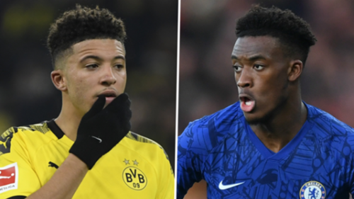 Borussia Dortmund will let Sancho go and target Hudson-Odoi of Chelsea