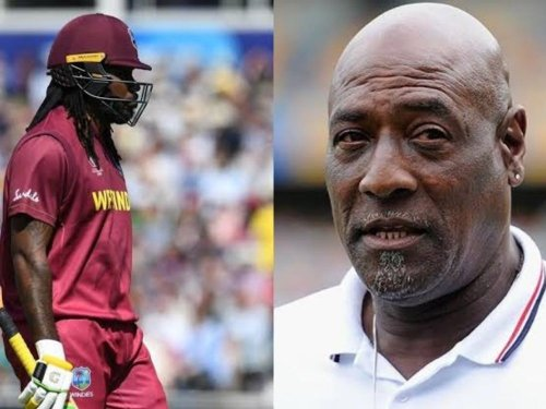 T20 World Cup 2021 - 'Chris Gayle needs to stay calm' Viv Richards on Curtly Ambrose remarks