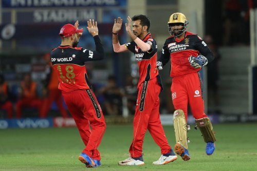 IPL 2021: Chahal had some words with Ishan Kishan as he takes his wicket