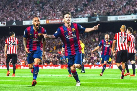 Barcelona ace Lionel Messi available but Manchester clubs have priorities