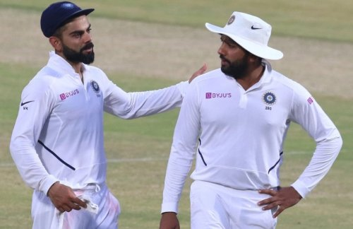 WTC Final: Rohit trains with Kohli in the nets; video goes viral