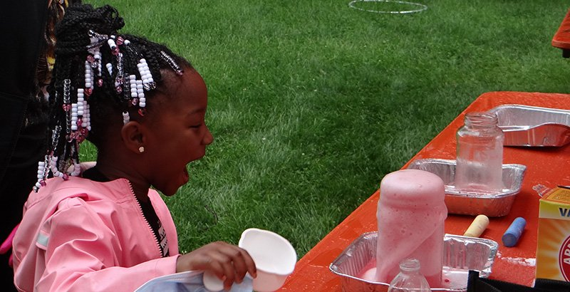 Saturday Science Lessons in the Park: Cleveland School District Sneaks Science Learning into Eye-Catching, Hands-On Experiments at Festival