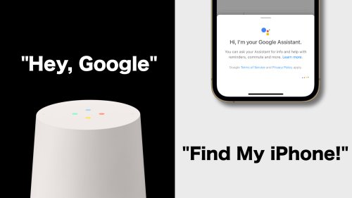 How to find your iPhone using your Google Home Speaker or Display