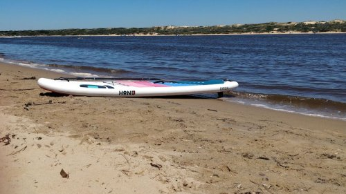 Honu Byron Inflatable SUP Review - The Adventure Lab