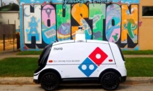 This is R2, the autonomous car from Nuro and Domino's Pizza that is already delivering pizzas in Houston