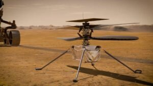 Follow the first flight of Perseverance's Ingenuity helicopter on Mars