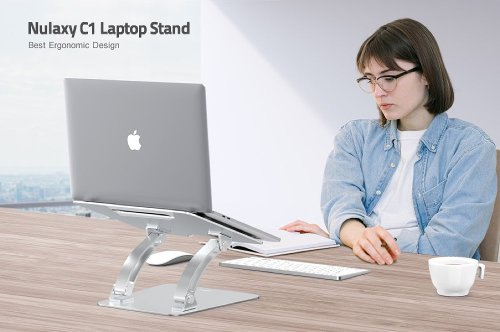 MacBook: Snag The Nulaxy Ergonomic Height Angle Adjustable Laptop Stand For $29 (Save $11)