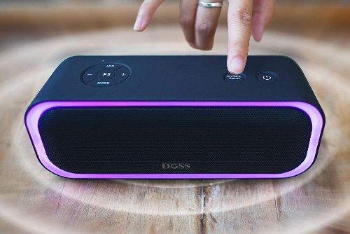 DOSS SoundBox Pro Portable Wireless Bluetooth Speaker Drops To $34!
