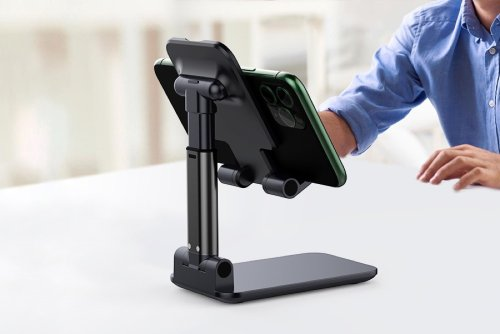 iPhone: This Angle & Height Adjustable Desk Phone Holder Costs You Just $6