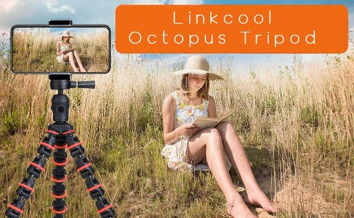 Now Vlog From Your iPhone With This Highly Rated Linkcool Octopus Tripod At $11.89 (15% Off)