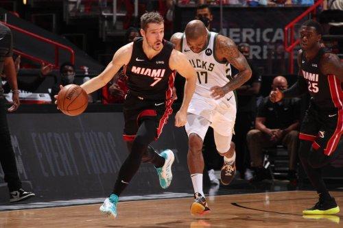 Heat pick up Goran Dragic's option; will decline Andre Iguodala's: Sources