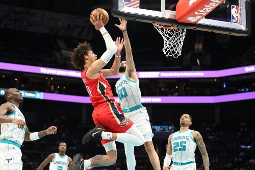What does Jaxson Hayes' recent offensive improvement mean for future of his game with the Pelicans?