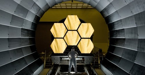 This Isn't the Big Telescope Debut NASA Imagined
