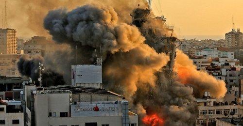 Photos: Violence Explodes Across Israel and Gaza